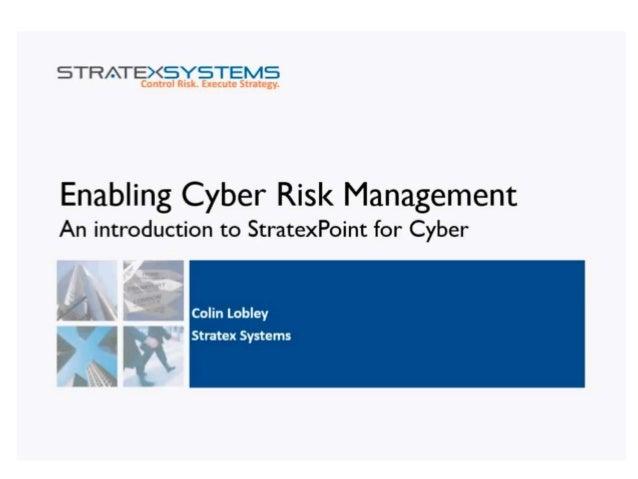 Cyber Risk Management