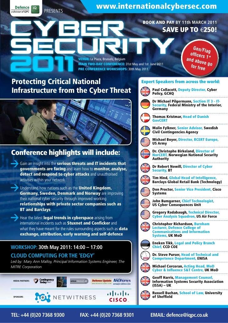 PRESENTS                                                     www.internationalcybersec.com                                ...