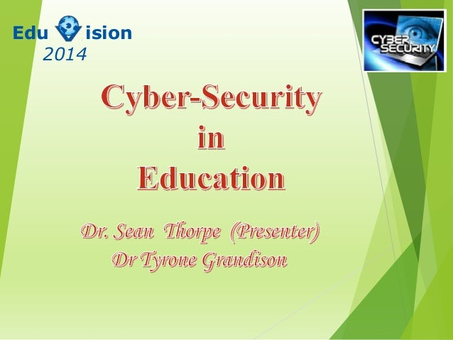 Cyber-Security in Education