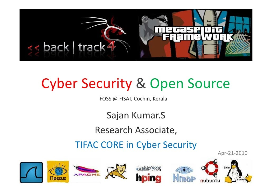 Invited Talk - Cyber Security and Open Source