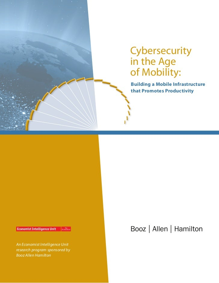 Cybersecurity                                 in the Age                                 of Mobility:                     ...