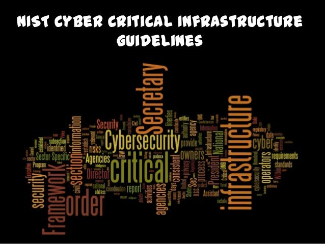 Cyber Critical Infrastructure Framework Panel