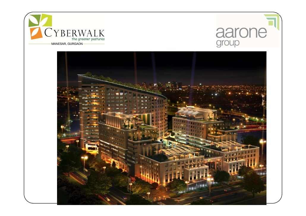 •   AARONE GROUP is a Delhi based, real estate development group,    with over 20 years experience in developing residenti...
