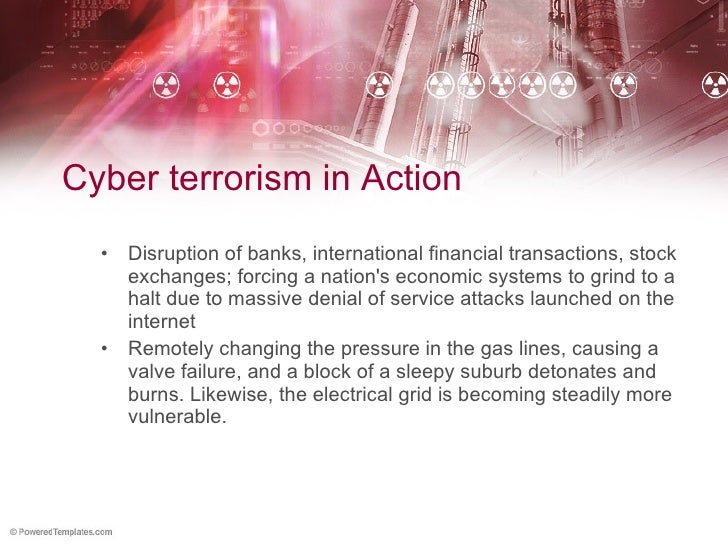 cyber terrorism thesis statement What are the differences between cyber attacks cyber terrorismand cyber war thesis proposal thesis statement writing thesis writing thesis help.