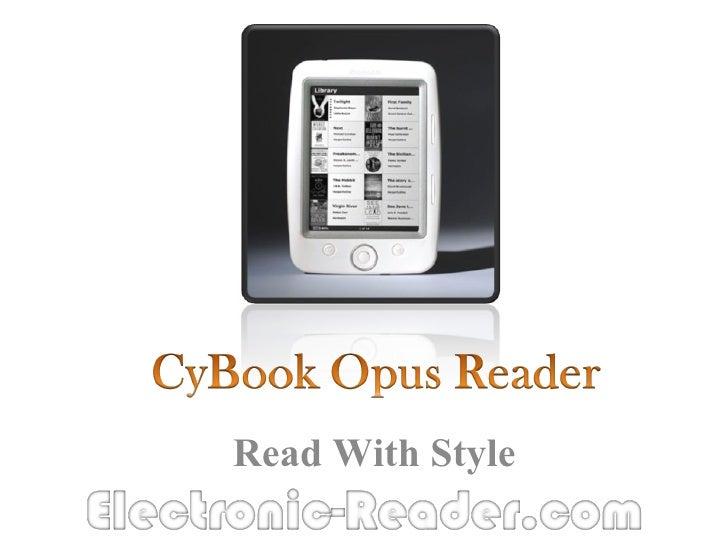 CyBook Opus Reader