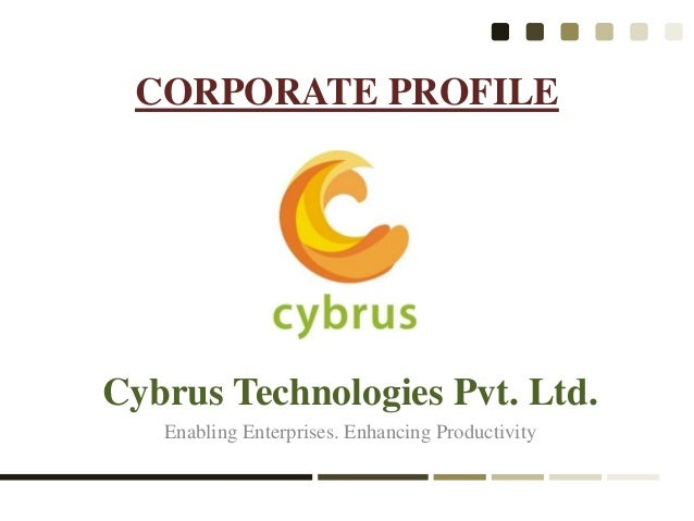 Cybrus technologies corporate profile
