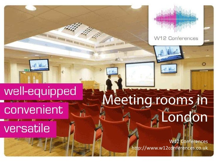 Hire meeting rooms in london