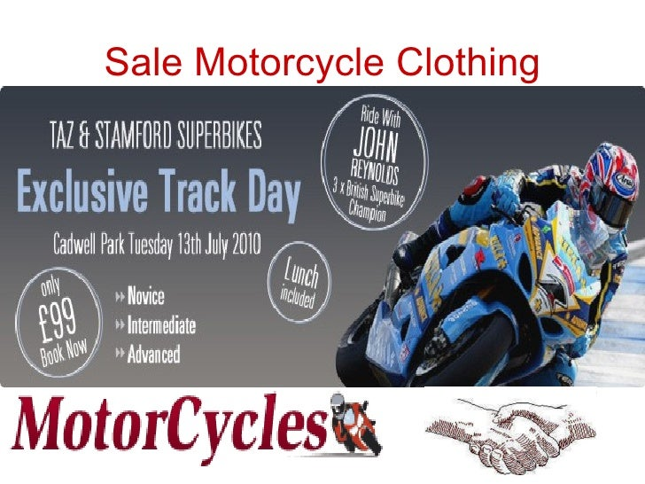 Sale Motorcycle Clothing