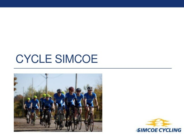 Cycle Simcoe: two year project overview