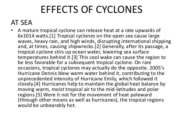 Cyclones Causes And Effects images