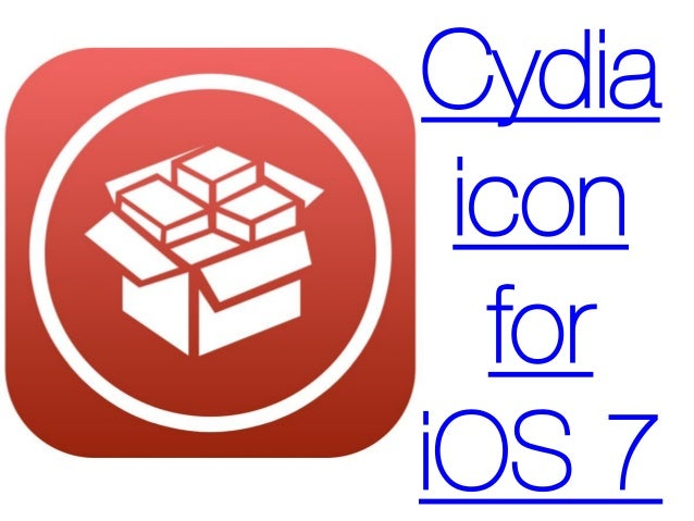 Cydia icon for iOS 7