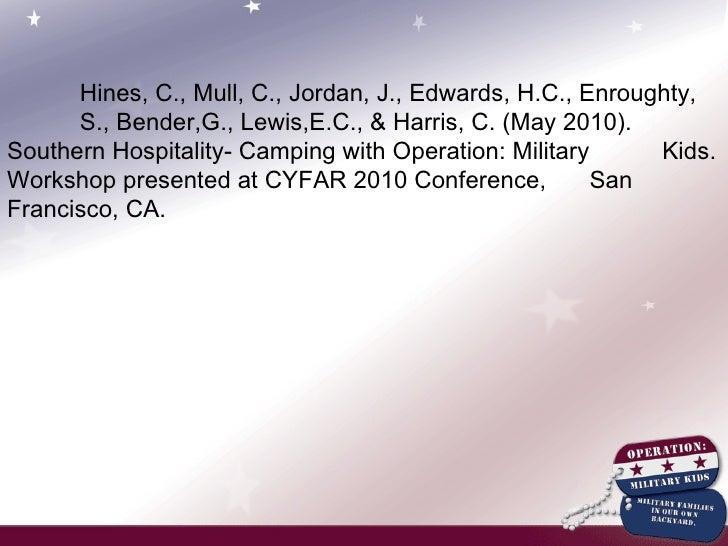 Cyfar presentation 2010
