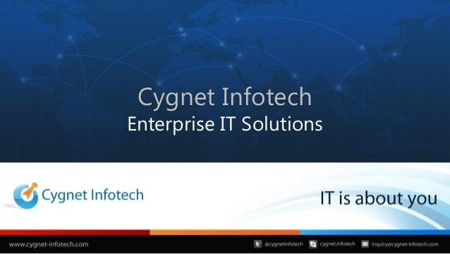 Cygnet InfotechEnterprise IT Solutions