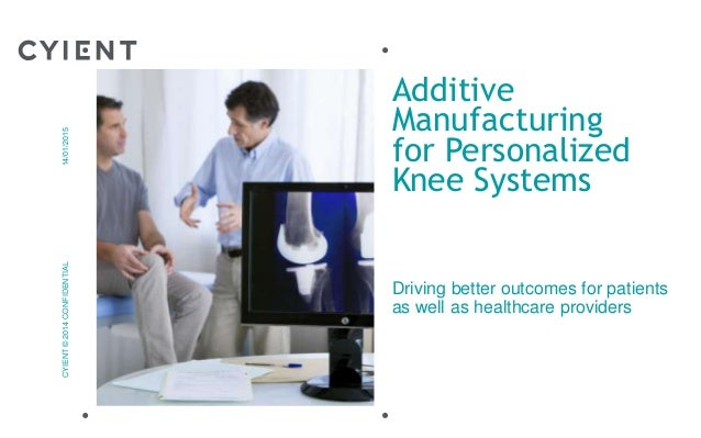 additive manufacturing for personalized knee systems