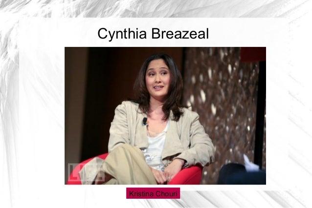 Cynthia breazeal ted-evaluation