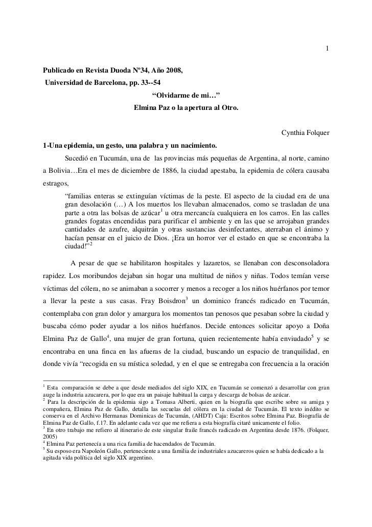 1Publicado en Revista Duoda Nº34, Año 2008,Universidad de Barcelona, pp. 33--54                                           ...