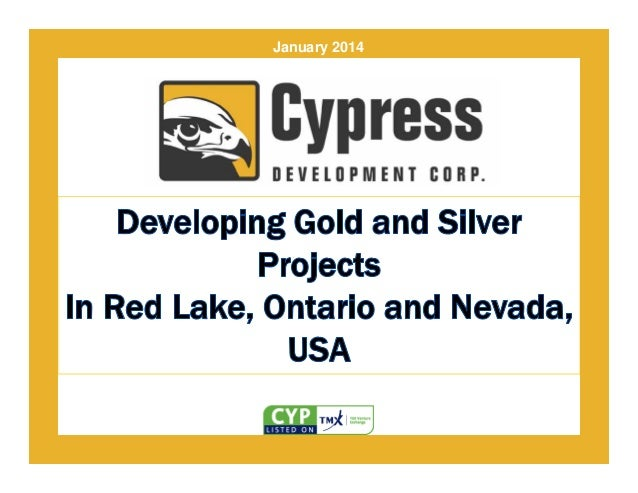 Cypress Development Corp Corporate Presentation