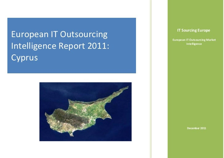 Cyprus IT Outsourcing Intelligence Report 2011