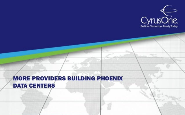 More Providers Building Phoenix Data Centers