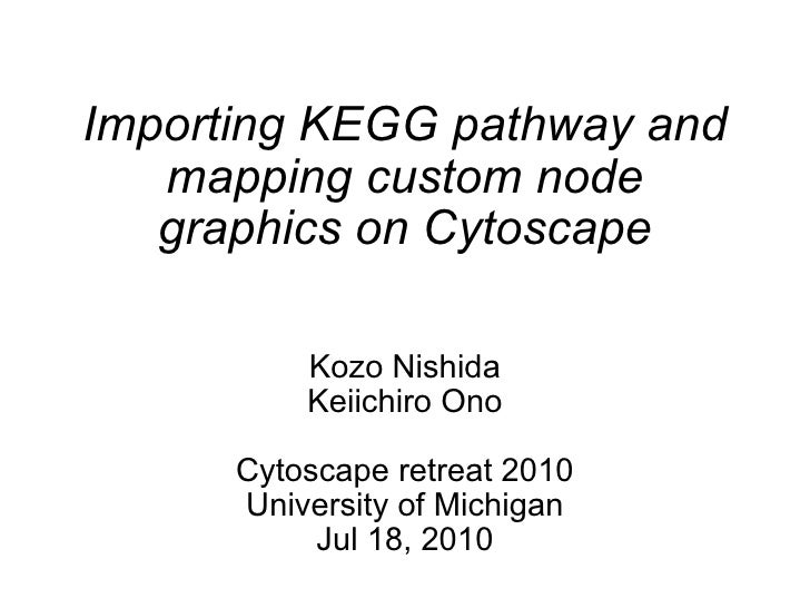 Cytoscape retreat 2010_demo