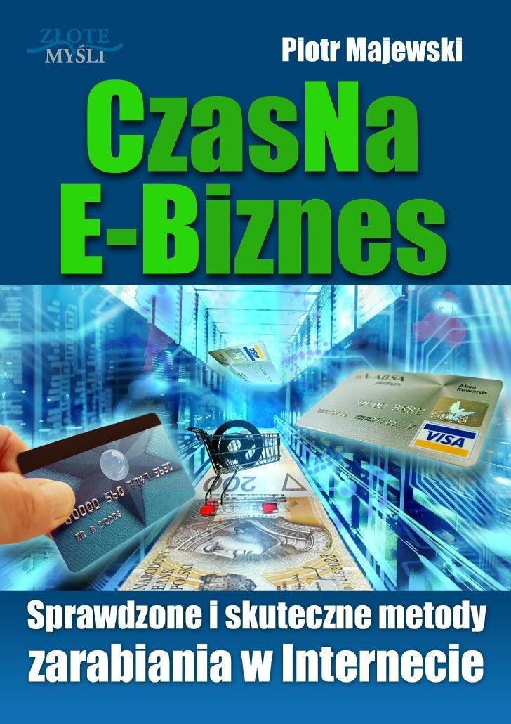 Czas Na E Biznes pobierz darmowy ebook pdf