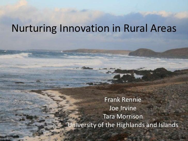 Rural Innovation