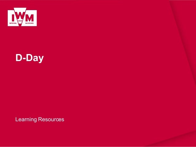 D-Day Learning Resources