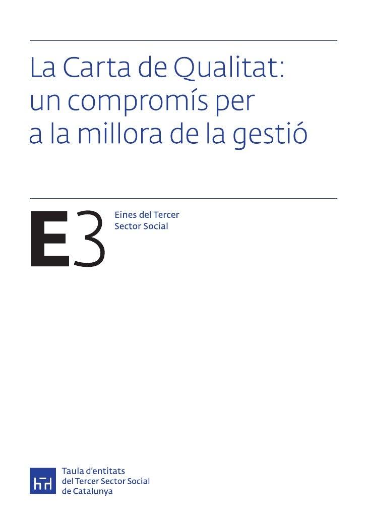Eines del Tercer Sector Social és una col·lecció de publicacions pràctiques de la Taula d'entitatsdel Tercer Sector social...