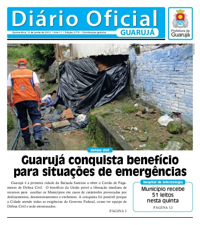 Município recebe51 leitosnesta quintaPágina 12hospital de infectologiadefesa civilGuarujá é a primeira cidade da Baixada S...