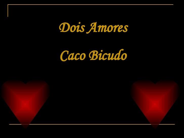 Dois Amores Caco Bicudo