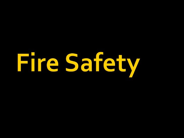 Fire Precautions (Workplace) Regs 1999       Detection & warning      Means of escape      Fighting fire      Staff T...