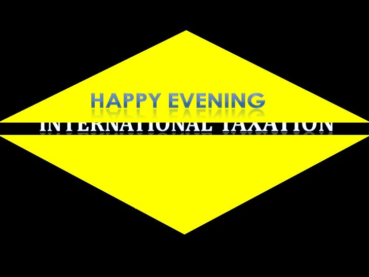 International Taxation - DS Vivek