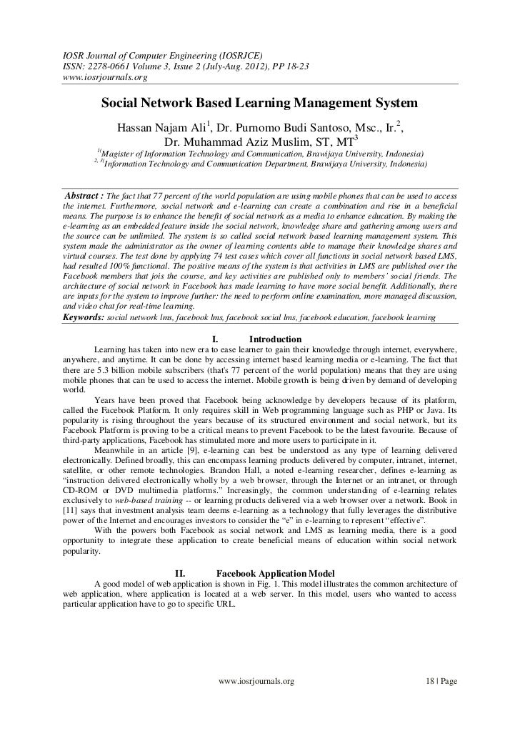 IOSR Journal of Computer Engineering (IOSRJCE)ISSN: 2278-0661 Volume 3, Issue 2 (July-Aug. 2012), PP 18-23www.iosrjournals...