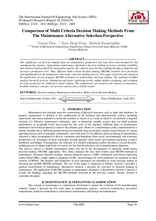 The International Journal Of Engineering And Science (IJES) ||Volume||2 ||Issue|| 6 ||Pages|| 18-25||2013|| ISSN(e): 2319 ...