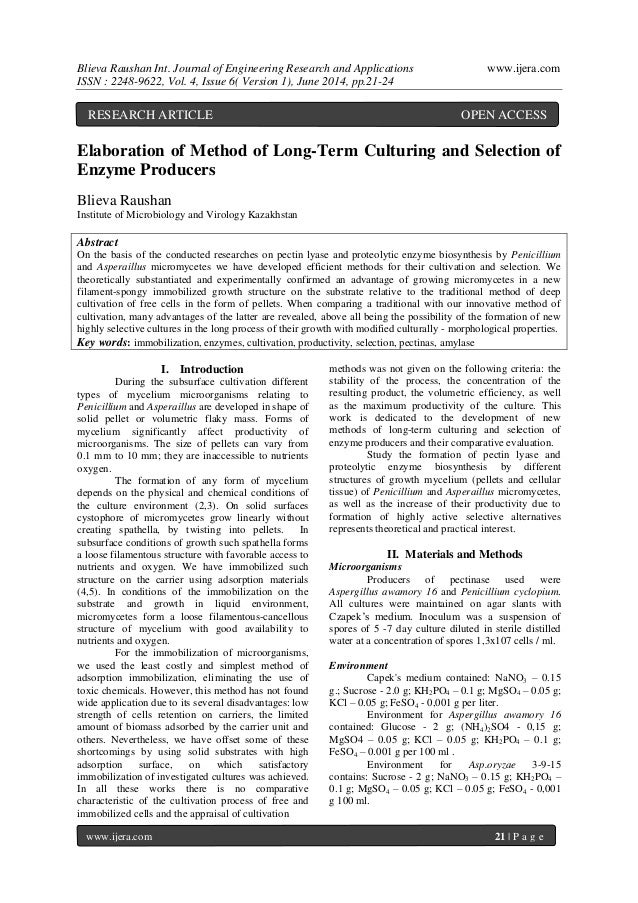 Blieva Raushan Int. Journal of Engineering Research and Applications www.ijera.com ISSN : 2248-9622, Vol. 4, Issue 6( Vers...