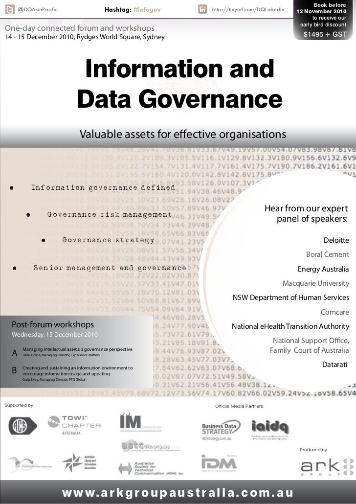 Information and Data Governance