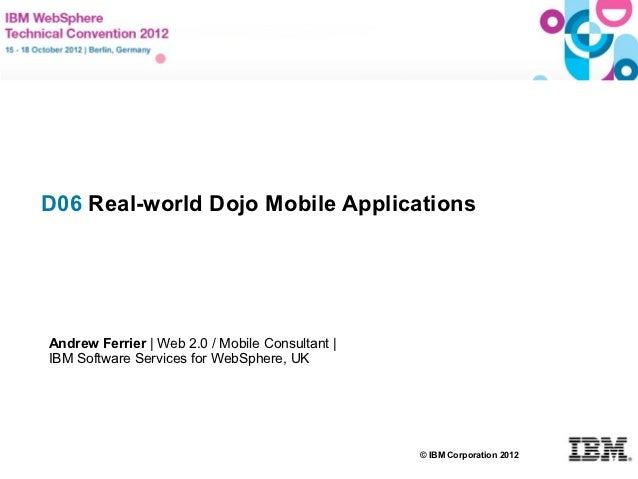 Real-world Dojo Mobile