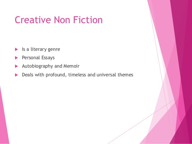 How to write creative fiction