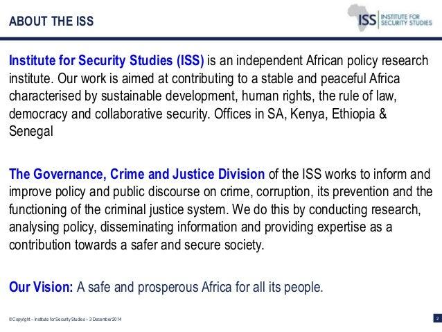 Criminal Justice vs Security Studies?