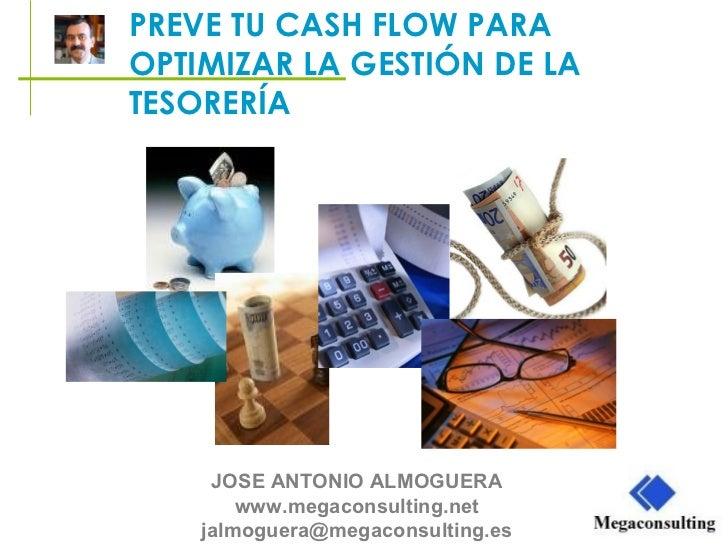 Megaconsulting. Preve tu Cash Flow