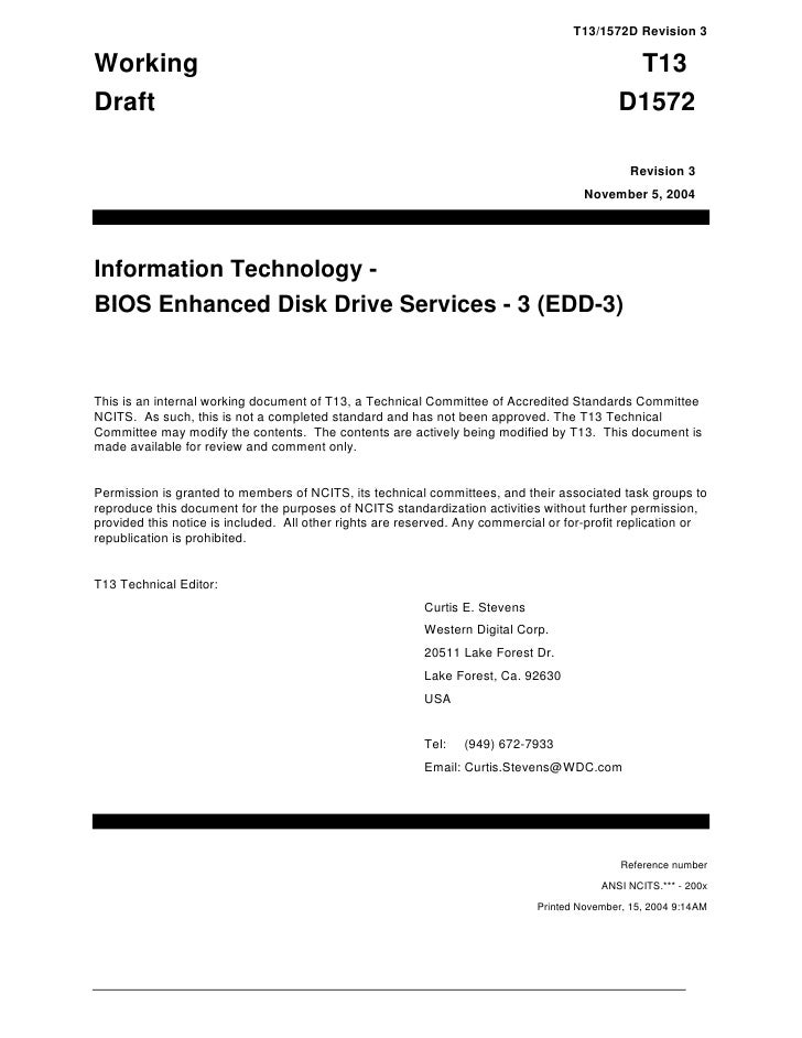 T13/1572D Revision 3Working                                                                                           T13D...
