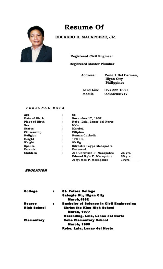 journeymen plumbers resume sample - Journeyman Plumber Resume