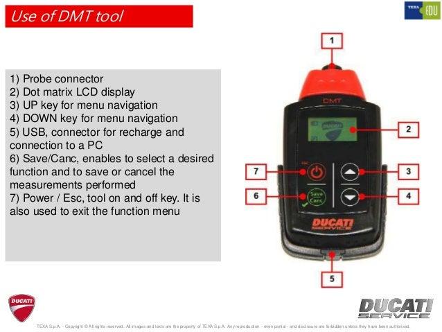 Ducati Dmt Tool