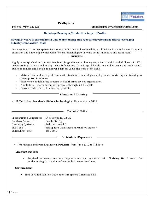 prathyusha ds resume