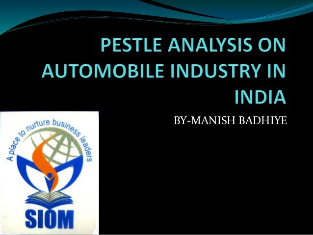 Automobile Industry writing an assignment