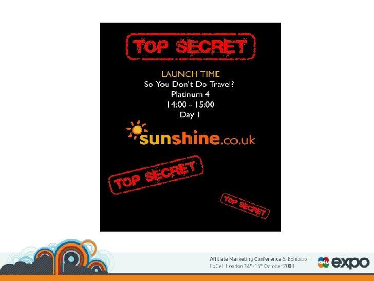 Sunshine Travel - Chris Clarkson & Alan Gilmour - sunshine.co.uk