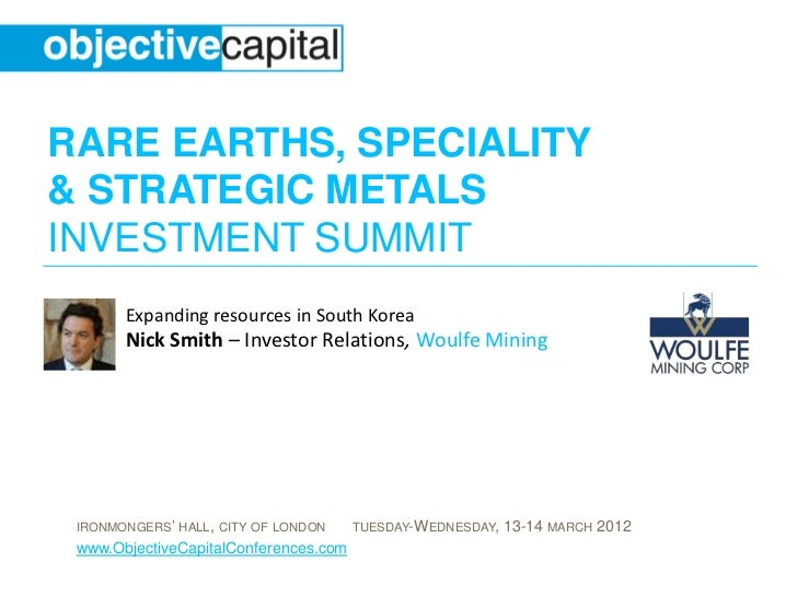 Expanding resources in South Korea