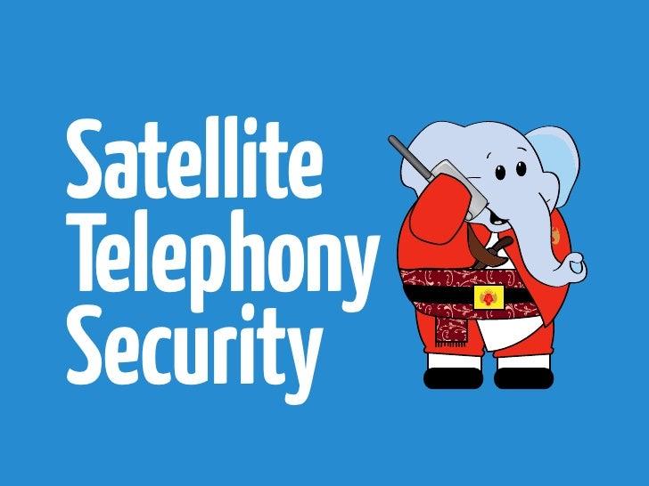 SatelliteTelephonySecurity