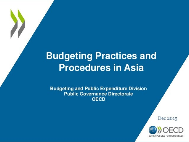 Budgeting practices and procedures in Asia, Jaehyuk Choi