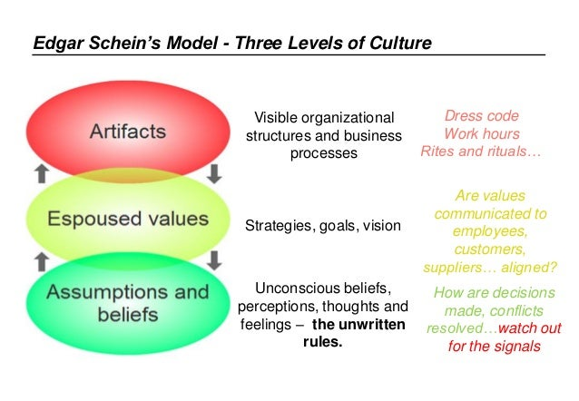 an analysis of the leadership and organizational culture an article by schein Evaluation of google organizational culture on edgar schein's three levels of culture organizational culture & leadership the writepass journal.